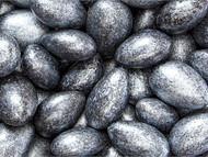 Jordan Almonds Black/Silver 5 lbs