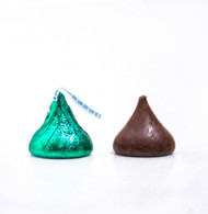 Hershey's Kisses Dark Green (Milk Chocolate) 2 Pounds