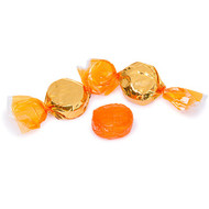 Wrapped Hard Candy Orange Flavor 2.5 Lbs