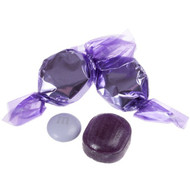 Wrapped Hard Candy Purple Grape 2.5 Lbs