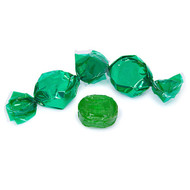 Wrapped Hard Candy Green Lime Flavor 2.5 Lbs