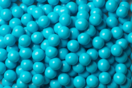 Sixlets Candy Coated Chocolate Powder Blue Case (12 Pounds)