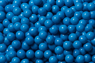 Sixlets Candy Coated Chocolate Blue Case (12 Pounds)