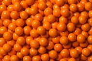 Sixlets Candy Coated Chocolate Orange Case (12 Pounds)