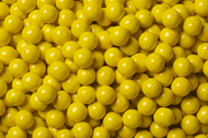 Sixlets Candy Coated Chocolate Yellow Case (12 Pounds)