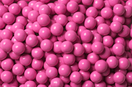 Sixlets Candy Coated Chocolate Hot Pink Case (12 Pounds)