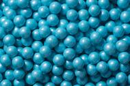 Sixlets Candy Coated Chocolate Shimmer Powder Blue Case (12 Pounds)