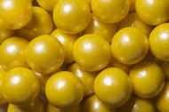 Gumballs Shimmer Pearl Yellow 2 Pounds