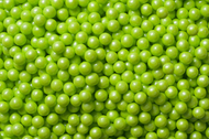 Pearl Beads Shimmer Lime Green 2 Pounds
