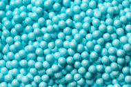 Pearl Beads Shimmer Powder Blue 2 Pounds