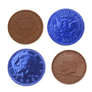 Chocolate Coins Royal Blue 1 Pound