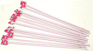 "Purple Giant Pixy Stix 16"" Long 12 units"