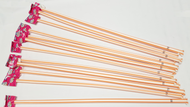 "Orange Giant Pixy Stix 16"" Long 12 units"