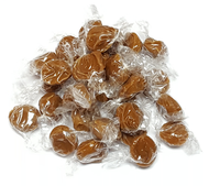 Caramel Hard Candy Round - 2 Pounds