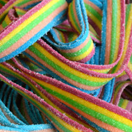 Sour Belts Rainbow 100 Count