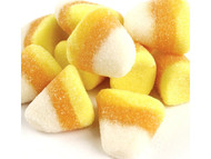 Large Puffy Gummy Candy Corn Bites 4.4 Lbs Bulk