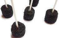 Marshmallow Cake Pops- Black 100 Count