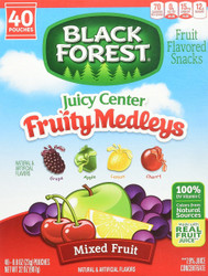 Black Forest Fruit Medley Fruit Snacks Box (40 Pouches)