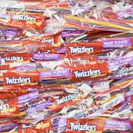 Clearance - Twizzlers Fruit Punch - 2 Lbs Bulk
