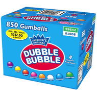 Gumballs Dubble Bubble Assorted Case (15 Pounds)