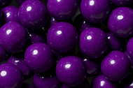 Gumballs Shine Purple 2 Pounds Bulk Bag