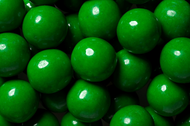 Gumballs Shine Green 2 Pounds Bulk Bag