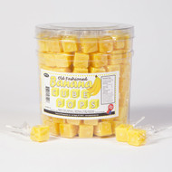 Cube Pops Yellow 100 Count