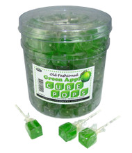 Cube Pops Green 100 Count