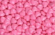 Candy Heart Sweet Shape Light Pink 2lbs