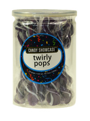Twirly Pops Purple 24 Count