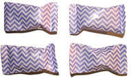 Chevron Lavender/white Buttermints 100 Count