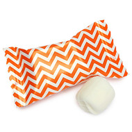 Chevron Orange/white Buttermints 100 Count