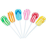 Flip Flop Lollipops 12 Count