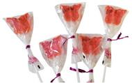Bendy Pop Long Butterfly Shaped Pink Lollipop