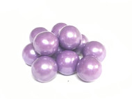 Gumballs Glimmer Purple (1/2 inch) 5 Pounds