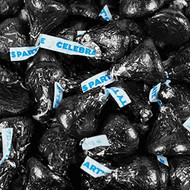 Hershey's Kisses Party Black 2.2 LB Bag