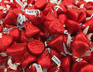 Hershey's Kisses Party Red 2.2 LB Bag