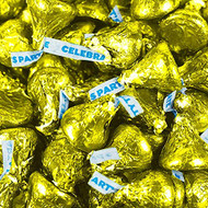 Hershey's Kisses Party Yellow 2.2 LB Bag