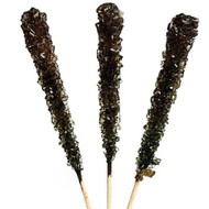 Rock Candy on Sticks Wrapped Black Cherry 12 units