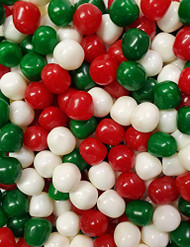 CLEARANCE - Assorted Fruit Sours Red, Green & White 2 Pound