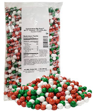 CLEARANCE - Christmas Mix Sixlets 2lb Bag