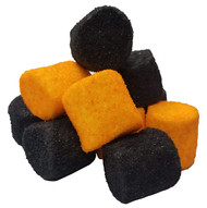 CLEARANCE - Marshmallows Black and Orange 1lb