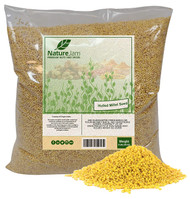 Kosher Hulled Millet 5 POUNDS-Whole Grain Protein Filled Seeds NON GMO-Raw-Product of India