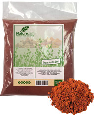KOSHER Ground Annatto Seeds Bulk Bag 1 Pound