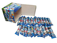 CLEARANCE - Soccer Bubble Gumballs Favors 24 Packs - 4 Gumballs in 1 Pack 24 x 4 Count Packs-FRESH