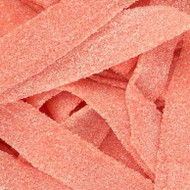 Sour Power Belts Pink Lemonade Pink 100 Count