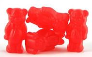 CLEARANCE - Juju Cinnamon Bears Bulk 2 Pounds In A Resealable Container - Red in Color