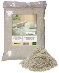 KOSHER BakerJam Dark Rye Flour 5 Pounds Bulk Bag