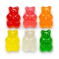 Assorted 6 Flavor Gummi Bears - 5 Pound