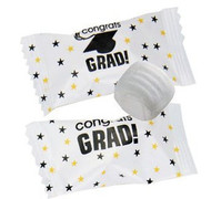 Clearance - Congrats Grad Buttermints 100 Count Wrapped